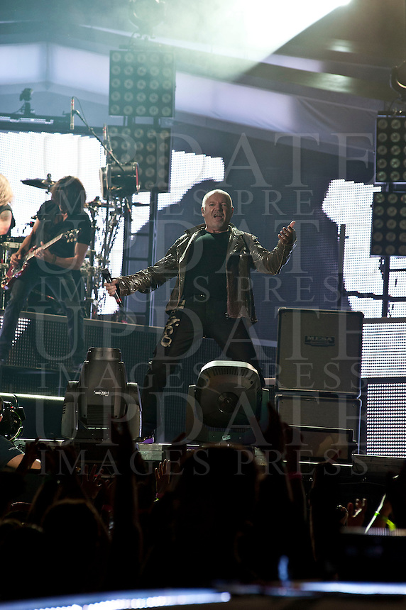 Vasco Rossi in concerto allo Stadio Olimpico, Roma, 25 giugno 2014.<br /> UPDATE IMAGES PRESS/Barbara Amendola