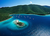 Waterlemon Cay  and Leinster Bay<br /> Virgin Islands National Park<br /> St. John<br /> U.S. Virgin Islands