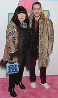 NEW YORK, NY - NOVEMBER 15: Designer Anna Sui and Marc Jacobs attends The Rolling Stones Exhibitionism opening night at Industria Superstudio on November 15, 2016 in New York City. Photo by John Palmer MediaPunch