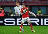 Fussball International  WM Qualifikation 2014   11.09.2012 Oesterreich - Deutschland Holger Badstuber (li, Deutschland) gegen Guido Burgstaller (Oesterreich)