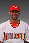 14 March 2008: ..Portrait of Eduardo Delacruz, Washington Nationals Minor League player at Spring Training Camp 2008..Mandatory Photo Credit: Ed Wolfstein Photo
