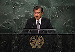His Excellency Muhammad Jusuf Kalla, Vice-President of the Republic of Indonesia  <br /> <br /> <br /> 6th plenary meeting High-level plenary meeting of the General Assembly (3rd meeting)