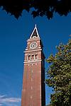 King Street Train Station Clock Tower Seattle Washington State