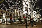 Quincy Market at Christmas time