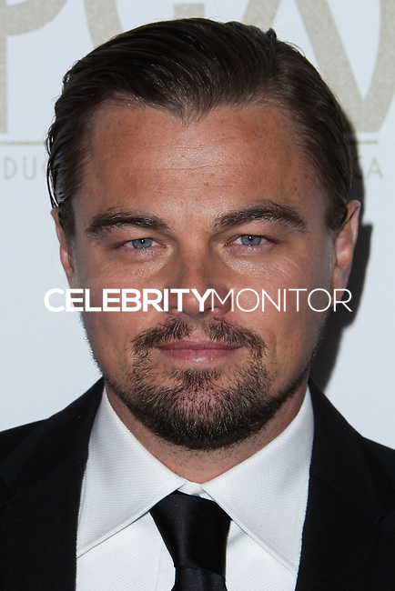 BEVERLY HILLS, CA - JANUARY 19: Leonardo DiCaprio at the 25th Annual Producers Guild Awards held at The Beverly Hilton Hotel on January 19, 2014 in Beverly Hills, California. (Photo by Xavier Collin/Celebrity Monitor)