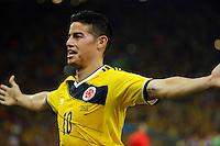 Colombia (COL) vs Uruguay (URU) FIFA Brasil 2014, 28-06-2014