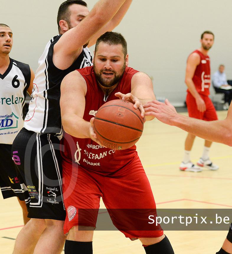 Kortrijk Sport CB : Regis Strebelle <br /> foto VDB / BART VANDENBROUCKE