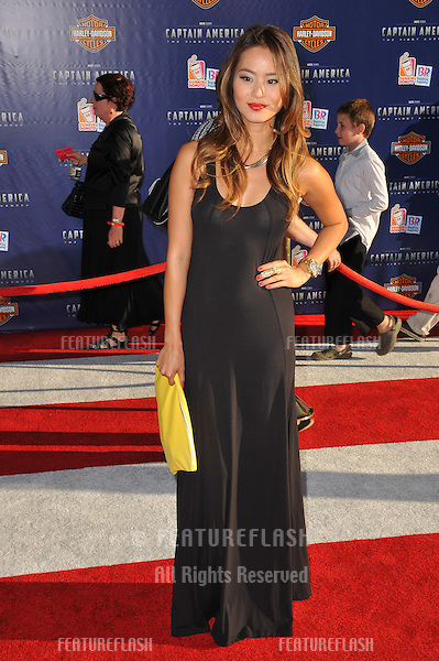 """Jamie Chung at the premiere of """"Captain America: The First Avenger"""" at the El Capitan Theatre, Hollywood..July 19, 2011  Los Angeles, CA.Picture: Paul Smith / Featureflash"""