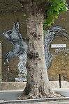 Club Row  Urban Stencilart Street Art east London UK
