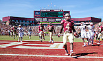Florida State running back Dalvin Cook scores in the second half of an NCAA college football game against Louisville in Tallahassee, Fla., Saturday, Oct. 17, 2015. Florida State defeated Louisville 41-21. (AP Photo/Mark Wallheiser) (AP Photo/Mark Wallheiser)