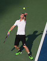 ANDY MURRAY (GBR)<br /> The US Open Tennis Championships 2014 - USTA Billie Jean King National Tennis Centre -  Flushing - New York - USA -   ATP - ITF -WTA  2014  - Grand Slam - USA <br /> 1st September  2014. <br /> <br /> &copy; AMN IMAGES