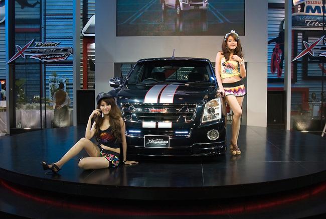 Bangkok, December 1,    at the Bangkok Motor Expo, Bangkok Dec. 1, 2010