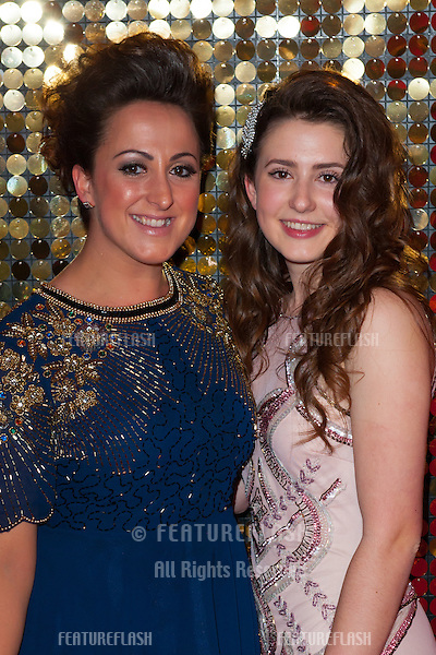 Natalie Cassidy and Jasmine Armfield arriving for the 2014 British Soap Awards, at the Hackney Empire, London. 24/05/2014 Picture by: Dave Norton / Featureflash