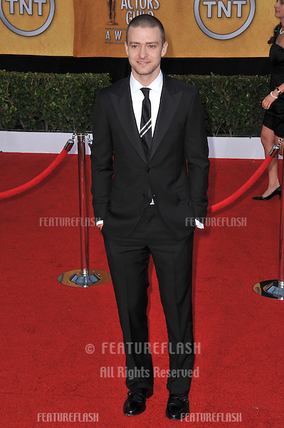 Justin Timberlake at the 17th Annual Screen Actors Guild Awards at the Shrine Auditorium..January 30, 2011  Los Angeles, CA.Picture: Paul Smith / Featureflash