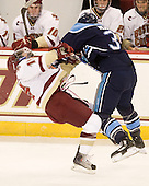 Joe Whitney (BC - 15), Mark Nemec (Maine - 3) - The Boston College Eagles defeated the visiting University of Maine Black Bears 4-1 on Sunday, November 21, 2010, at Conte Forum in Chestnut Hill, Massachusetts.