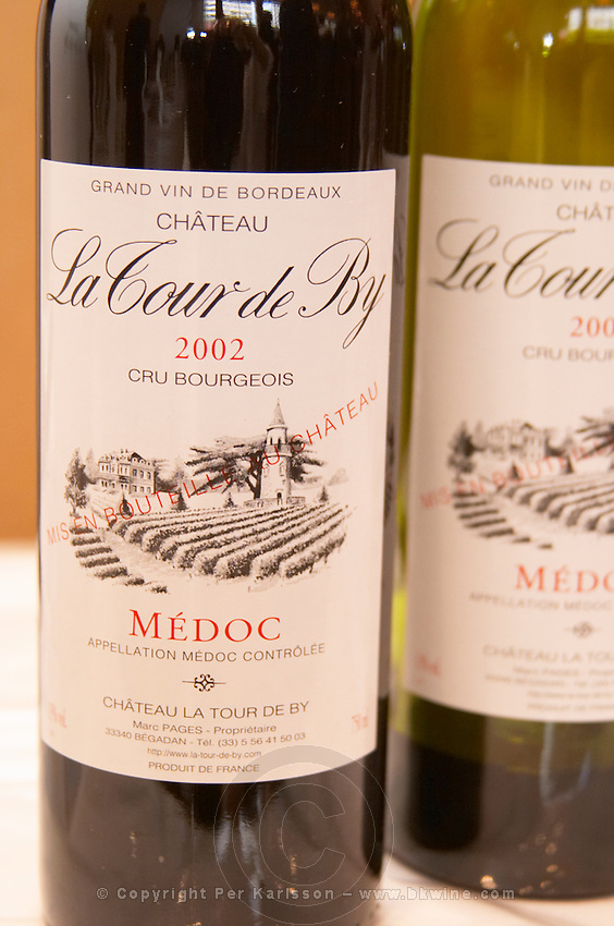 Chateau La Tour de By, Medoc, Bordeaux, France