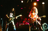 SOUNDGARDEN - Kim Thayil and Chris Cornell - performing live at The Whisky A-Go-Go in Hollywood, CA USA on December 7, 1989.  Photo credit:  Kevin Estrada / Iconicpix