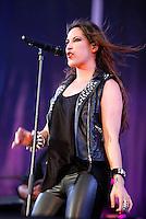 Singer Malu en  Valladolid Latino