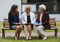 ***NO FEE PIC *** 11/06/2014 (L to R) Maeve Regan Managing Solicitor MLRC, Minister of State for Housing, Minister Jan O'Sullivan TD & Sr. Helena O' Donoghue Chairperson MLRC during The Mercy Law Resource Centre's Annual Report for 2013 at Sophia Housing on Cork Street, Dublin. Photo: Gareth Chaney Collins