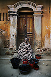 1564_03,Coal vendor, Saint Louis, Senegal, 1986, SENEGAL-10001, Magnum Photos, NYC62462, MCS1985007 K104<br />