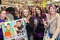 Joey Essex visits HMV to celebrate the release of his self-selected compilation album 'Joey Essex Presents Essex Anthems', HMV, Chelmsford, Essex, Britain 17 Mar 2014.<br /> <br /> SME