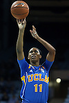 16 November 2014: UCLA's Lajahna Drummer. The University of North Carolina Tar Heels hosted the University of California Los Angeles Bruins at Carmichael Arena in Chapel Hill, North Carolina in a 2014-15 NCAA Division I Women's Basketball game. UNC won the game 84-68.