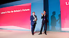 Ed Balls speech <br /> Labour Party Conference, Manchester, Great Britain <br /> 22nd September 2014 <br /> <br /> Ed Balls MP <br /> Shadow Chancellor<br /> Stability &amp; Prosperity debate<br /> <br /> Ed Miliband <br /> <br />  <br /> <br /> Photograph by Elliott Franks <br /> Image licensed to Elliott Franks Photography Services