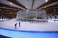 SCHAATSEN: LEEUWARDEN: 08-10-2015, Elfstedenhal, recreatieschaatsen, ©foto Martin de Jong