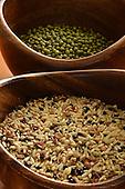 Stock Photos of Mung Beans and Rice