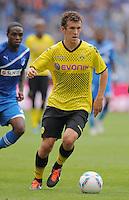 FUSSBALL   1. BUNDESLIGA  SAISON 2011/2012   2. Spieltag   13.08.2011 TSG 1899 Hoffenheim - Borussia Dortmund  Ivan Perisic (Borussia Dortmund) am Ball
