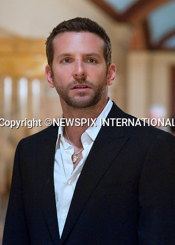 """10.1.2013, 85TH OSCAR NOMINATIONS, Los Angeles:  BRADLEY COOPER.Performance by an actor in a leading role, Bradley Cooper in ?Silver Linings Playbook?.Mandatory Photo Credit: ©Jojo Whilden/Newspix International              ..                           **ALL FEES PAYABLE TO: """"NEWSPIX INTERNATIONAL""""..**PHOTO CREDIT MANDATORY!!: NEWSPIX INTERNATIONAL(Failure to credit will incur a surcharge of 100% of reproduction fees).IMMEDIATE CONFIRMATION OF USAGE REQUIRED:.Newspix International, 31 Chinnery Hill, Bishop's Stortford, ENGLAND CM23 3PS.Tel:+441279 324672  ; Fax: +441279656877.Mobile:  0777568 1153.e-mail: info@newspixinternational.co.uk"""