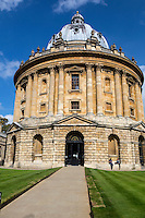 UK, England, Oxford.  Radcliffe Camera, Bodleian Library.