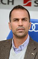 FUSSBALL  1. BUNDESLIGA  SAISON 2012/2013  2. SPIELTAG    01.09.2012 TSG 1899 Hoffenheim  - Eintracht Frankfurt Trainer Markus Babbel (TSG 1899 Hoffenheim)