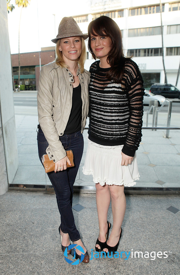 """BEVERLY HILLS, CA - JUNE 06:  Elizabeth Banks and Elizabeth Reaser attend a Fox Searchlight screening Of """"The Art Of Getting By"""" at Clarity Theater on June 6, 2011 in Beverly Hills, California.  (Photo by Todd Williamson/WireImage)"""