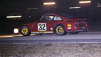 #32 Porsche Carrera 911 RSR of Rick Knoop, Bob Akin, and Steve Earle 7th place finish, 1978 24 Hours of Daytona, Daytona International Speedway, Daytona Beach, FL, February 5, 1978.  (Photo by Brian Cleary/www.bcpix.com)