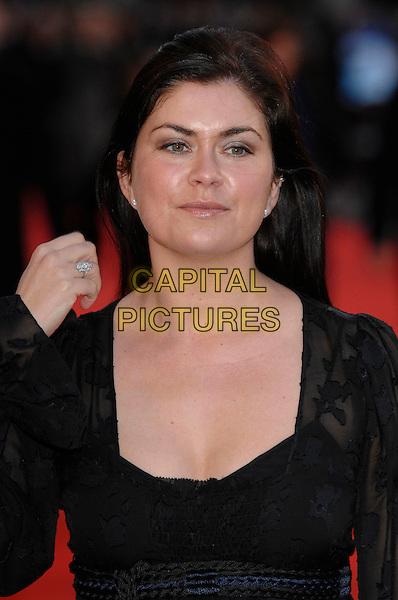 """AMANDA LAMB.""""Miss Potter"""" World Film Premiere.Empire cinema, Leicester Square.London, England  3rd December 2006 .portrait headshot.CAP/PL.©Phil Loftus/Capital Pictures"""