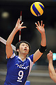 Yuta Abe (Arrows), MARCH 6, 2011 - Volleyball : 2010/11 Men's V.Premier League match between Oita Miyoshi Weisse Adler 1-3 Toray Arrows at Tokyo Metropolitan Gymnasium in Tokyo, Japan. (Photo by AZUL/AFLO)