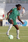 22 July 2009: Tina Ellertson (8) of Saint Louis Athletica.  Saint Louis Athletica defeated the visiting Sky Blue FC 1-0 in a regular season Women's Professional Soccer game at Anheuser-Busch Soccer Park, in Fenton, MO.