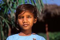 Ritratto di ragazzo dell' hasram di Kailash Satyarthi Nobel per la pace 2014 (inizi anni 2000)
