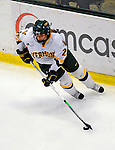 25 October 2008: University of Vermont Catamount defenseman Shannon Bellefeuille, a Freshman from Kanata, Ontario, in action against the Cornell University Big Red at Gutterson Fieldhouse, in Burlington, Vermont. The Big Red defeated the Catamounts 5-1 to sweep their 2-game series in Vermont...Mandatory Photo Credit: Ed Wolfstein Photo