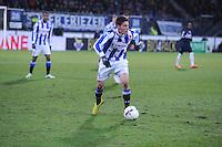 VOETBAL: HEERENVEEN: Abe Lenstra Stadion, 07-02-2015, Eredivisie, sc Heerenveen - PEC Zwolle, Eindstand: 4-0, Stefano Marzo (#2), ©foto Martin de Jong