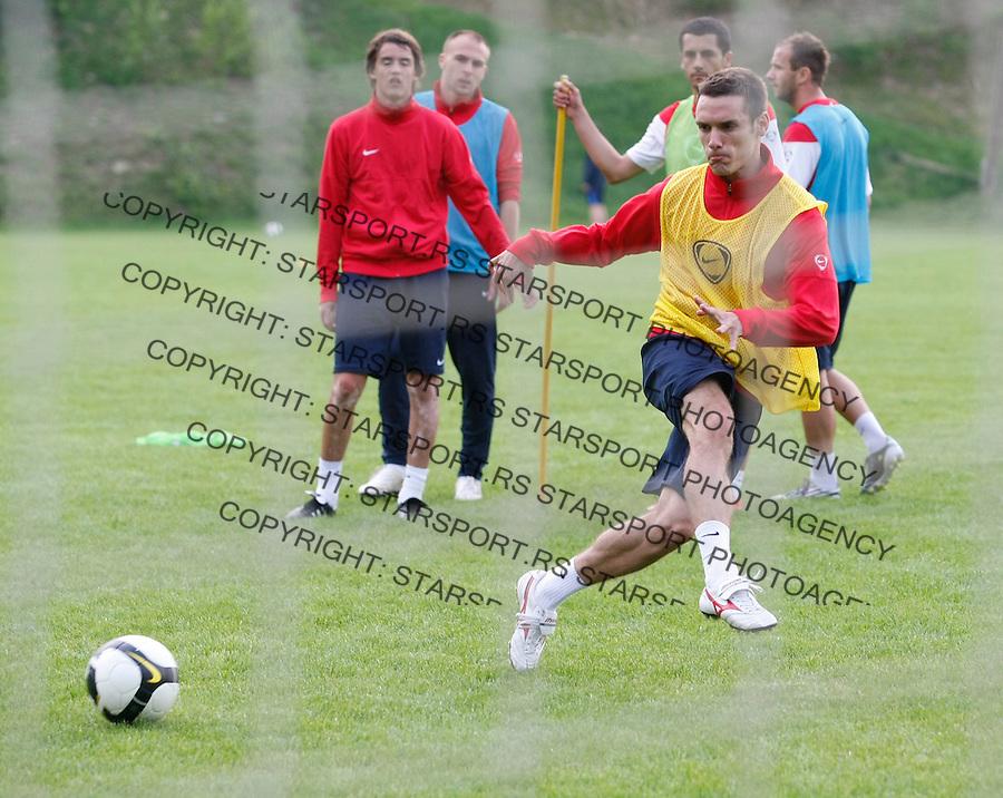 Fudbal, pripreme za  sezonu 2010/2011.FK Crvena Zvezda.Marko Vesovic.Radvanje, 25.06.2010.foto: Srdjan Stevanovic/Starsportphoto ©