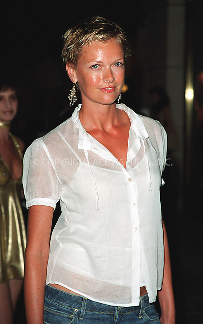 "Sarah O'Hare attending the New York Premiere of ""Austin Powers in Goldmember"" at Barney's New York on Madison Avenue in New York. July 24, 2002. Please byline: Alecsey Boldeskul/NY Photo Press.   ..*PAY-PER-USE*      ....NY Photo Press:  ..phone (646) 267-6913;   ..e-mail: info@nyphotopress.com"