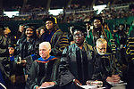 Gradute Commencement. Photo by Ben Siegel