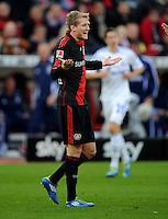 FUSSBALL   1. BUNDESLIGA   SAISON 2011/2012    10. SPIELTAG Bayer 04 Leverkusen - FC Schalke 04                        23.10.2011 Andree SCHUERRLE (Leverkusen)