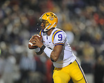 LSU quarterback Jordan Jefferson (9) at Vaught-Hemingway Stadium in Oxford, Miss. on Saturday, November 19, 2011..
