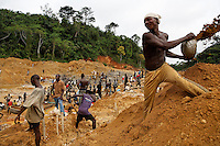 Gold mining on river banks outside of Prestea...Fixer is:.Kofi Adu Dankwah (+233 24 474 9756)