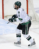 Justin Abdelkader (Michigan State - Muskegon, MI) - The Michigan State Spartans defeated the University of Maine Black Bears 4-2 in their 2007 Frozen Four semi-final on Thursday, April 5, 2007, at the Scottrade Center in St. Louis, Missouri.