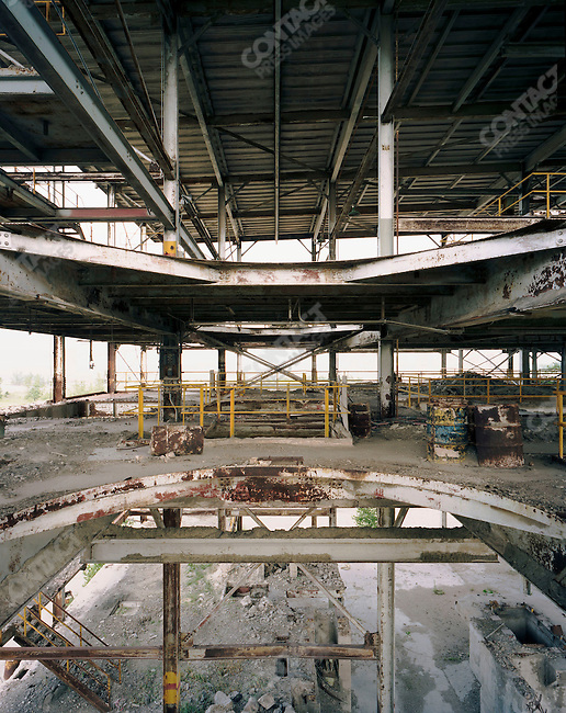 Abandoned factory, Gary, Indiana, March, 2008