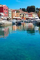 The Picturesque fishing harbour of Veli Lo?inj , Lo?inj Island, Croatia